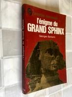 J'AI LU L'AVENTURE MYSTÉRIEUSE N° A 229  L'énigme Du GRAND SPHINX  Georges BARBARIN - Fantastic