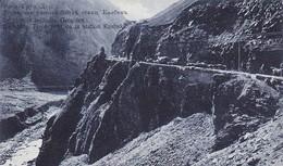 AK Le Chemin Militaire Grousien - La Vallée Terok Près De La Station Kasbek - Feldpost - Ca. 1915 (41577) - Georgien