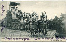 - En Gironde - Fêtes Des Vendanges - Char Du Médoc, Non écrite, J. BERTRANT-POUEY, Libourne, 1909, TTBE, Scans. - Libourne