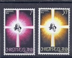 190031805  CHRISTMAS  ISL.  YVERT    Nº  61/2  **/MNH - Christmas Island