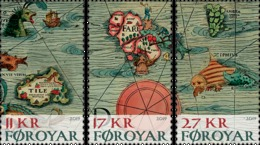 Foroyar 2019 - Carta Marina 1539 ** - Geographie