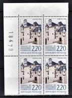 FRANCE  1988 - BLOC DE 4 TP Y.T. N° 2546 - NEUFS** COIN DE FEUILLE - Frankreich