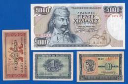 Gréce  5000 Apax  1984  Sup  +  3  Billets - Griekenland