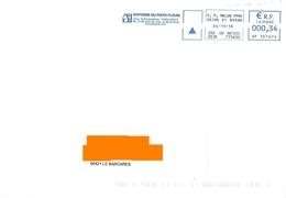 EMA HP 137674 Seine Et Marne Flamme éditions Du Puits Fleuri Héricy - Postmark Collection (Covers)