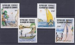190031823   COMORES  YVERT    Nº  362/5  **/MNH - Comores (1975-...)