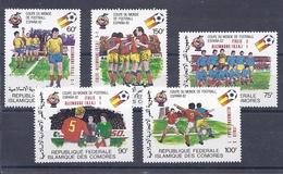 190031828   COMORES  YVERT    Nº  373/7  **/MNH - Comores (1975-...)
