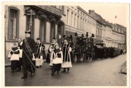 1954 - Aalst Alost - Carte Photo C.86 X 128mm Belgique Prêtre ...in Gods Kerk Foto H Louies - Aalst