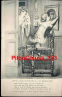 """ILLUSTRATEURS - SIGNES - MATTEI - """" Bonne Année, Mon Petit Papa ... Et Reviens Vite - 01 Janvier 1915 """" - Illustrateurs & Photographes"""