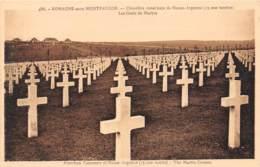 55 - ROMAGNE-sous-MONTFAUCON - Cimetière Américain De Meuse-Argonne (15 000 Tombes) - Les Croix De Marbre - Autres Communes