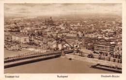 BUDAPEST - Erzsébet-hid - Elisabeth-Brücke - Hongrie