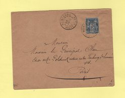 Mantoche - Haute Saone - 1891 - Type Sage - 1877-1920: Semi Modern Period