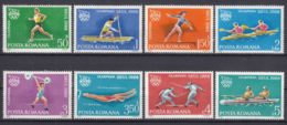 Romania 1988 Sport Olympic Games Seoul Mi#4475-4482 Mint Never Hinged - 1948-.... Repúblicas