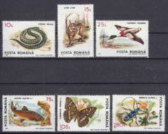 Romania 1993 Animals Mi#4895-4900 Mint Never Hinged - Ungebraucht