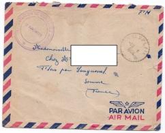 LSC 1956 - Cachet CHAMPLAIN & Cachet 1er BATAILLON De TIRAILLEURS ALGERIENS - Algérie (1924-1962)
