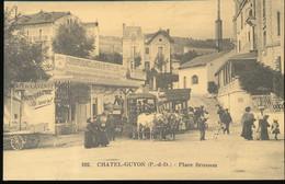 Reproduction --- Cecodi --  Chatel - Guyon -- Place Brosson - Cartes Postales