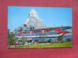 Monorail  Matterhorn Disneyland  Ref 3392 - Disneyland