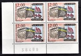 FRANCE  1988 - BLOC DE 4 TP Y.T. N° 2545 - NEUFS** COIN DE FEUILLE - Frankreich