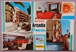 MALLORCA - HOTEL ARCADIA - EL ARENAL - Vg S2 - Mallorca