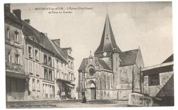 Beaumont En Auge L'eglise Et La Place Du Crochet - Other Municipalities