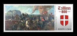 Estonia 2019 Mih. 959 Battle Of Lyndanisse. Painting Of Magda Bormeister MNH ** - Estonia