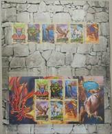 Australia 2011. Mythical Creates. Folder With Miniature Sheet And Stamp Set - Nuovi