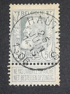 COB N ° 78 OBLITÉRATION Hautfays 1906 - 1905 Grosse Barbe