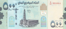 YEMEN 500 RIAL 2017 P- NEW UNC */* - Jemen