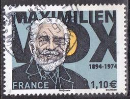 """LOTE 1910  ///  (C040)  FRANCE N° 4906 De 2014 Oblitéré Rond """"Maximilien Vox"""" - Francia"""