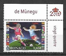 Monaco 2019 - La Coupe Du Monde Féminine De Football ** - Monaco