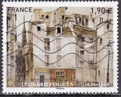 "LOTE 1910  ///  (C055)  FRANCE N_ 5200 De 2018 Oblitéré ""L. Foujita"" - France"
