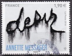 """LOTE 1910  ///  (C065)  FRANCE N° 5202 De 2018 Oblitéré ROND """"Anette Messager"""" - Francia"""