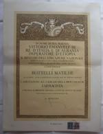 DIPLOMA DI ABILITAZIONE FARMACISTA IN NOME VITTORIO EMANUELE III RE D'ITALIA ALBANIA IMPERATORE D'ETIOPIA 1942 - Diplomi E Pagelle
