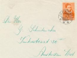 Nederlands Indië - 1933 - 12,5 Cent Willem I Op Cover-front Van LB BENDOREDJO Naar Amsterdam / Nederland - Indie Olandesi