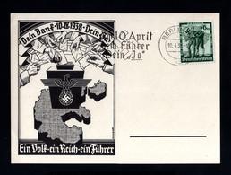 T12-GERMAN EMPIRE-MILITARY PROPAGANDA POSTCARD Berlin.1938.WWII.DEUTSCHES REICH.POSTKARTE.carte Postale - Deutschland
