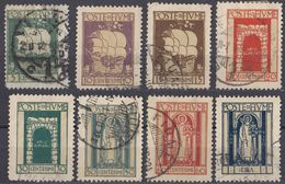 FIUME - 1923 - Lotto Di 8 Valori Usati: Yvert: 170/173 E 175/178. - 8. WW I Occupation
