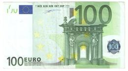 """100 EURO RARE """"N"""" F001A1! - EURO"""