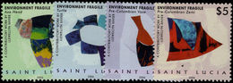 St Lucia 2006 Works Of Art By Llewellyn Xavier Unmounted Mint. - St.Lucia (1979-...)