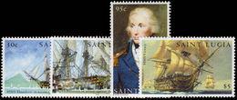St Lucia 2005 Battle Of Trafalgar Unmounted Mint. - St.Lucia (1979-...)