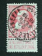 COB N ° 74 Oblitération Fayt-Lez-Seneffe 10 - 1905 Grosse Barbe