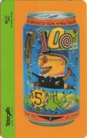 TARJETA TELEFONICA DE NUEVA ZELANDA, KIWICAN 1996. HAVE A GO!. G-138A. Dashed Zero (007). - Neuseeland