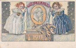 LEOPOLD II 1911 ENTIER KONIGREICH BAYERN POSTKARTE OBLITEREE MUENCHEN 1911 - BLEUP - Ganzsachen