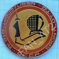 USSR / Badge / Soviet Union / Sports Lottery Sport Loto - 43. Fencing. - Scherma