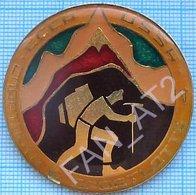 USSR / Badge / Soviet Union / Lottery Sportloto Sport Loto - 4. Tourism Alpinism. Mountaineering. - Alpinismus, Bergsteigen