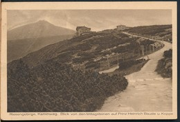 °°° 13324 - RIESENGEBIRGE - 1922 With Stamps °°° - Schlesien