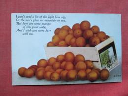 Box Of Oranges  California   Ref 3394 - Flowers, Plants & Trees