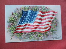 US Flag  Embossed  The Star Spangled Banner   Tuck Series         Ref 3394 - Patriotic