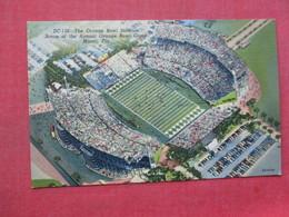 Football Orange Bowl Stadium    Miami Florida           Ref 3395 - Other
