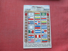 Flags Of The Countries Composing The Internationa; Union Of America Republics         Ref 3395 - Other