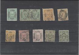 Turchia ,10 Pezzi Usati ,buona Qualita - 1858-1921 Impero Ottomano