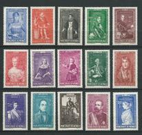 MONACO 1942 . Série N°s 234 à 248 . Neufs ** (MNH) . - Monaco
